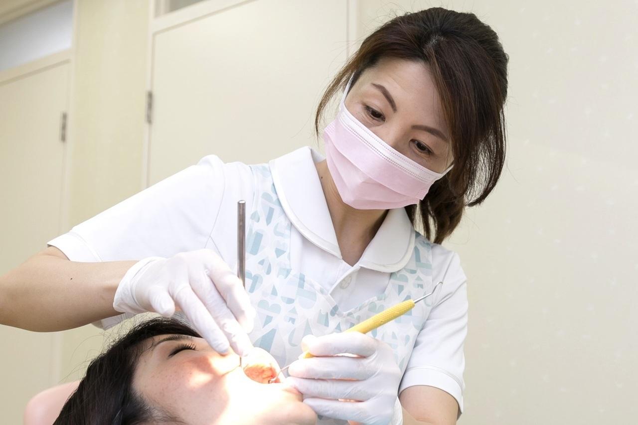足立区綾瀬の歯医者 新井歯科医院 歯周病治療 歯石やプラークの除去